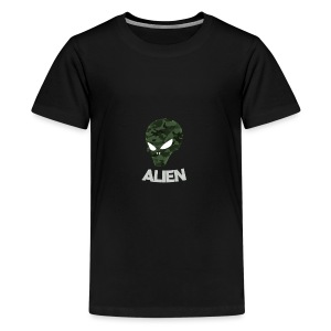 Military Alien - Kids' Premium T-Shirt