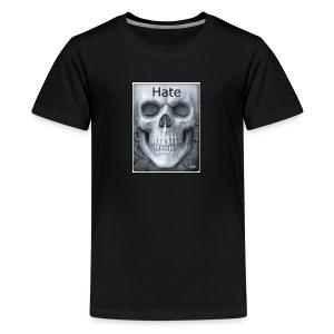e1c03d5696bdc1fb2e82d0e7f4f9e360 badass skulls in - Kids' Premium T-Shirt