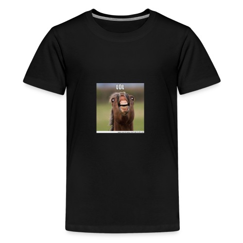 Funny horse - Kids' Premium T-Shirt