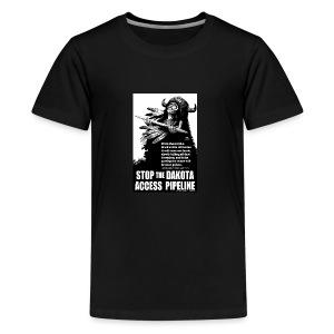 Stop the Dakota Access Pipe Line Prophecy - Kids' Premium T-Shirt