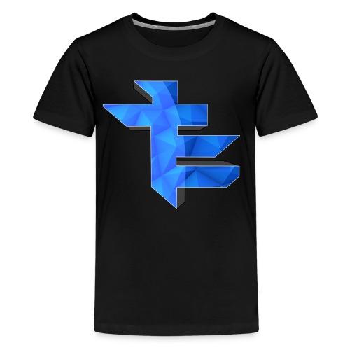 Simple LightningTE Logo - Kids' Premium T-Shirt