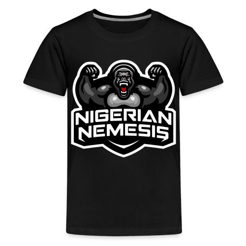 Nigerian Nemesis Gorilla Roar - Kids' Premium T-Shirt