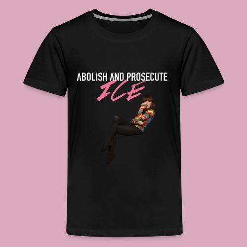 Abolish and Prosecute ICE - Kids' Premium T-Shirt