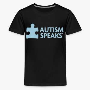 Autism speaks....dont listen. - Kids' Premium T-Shirt