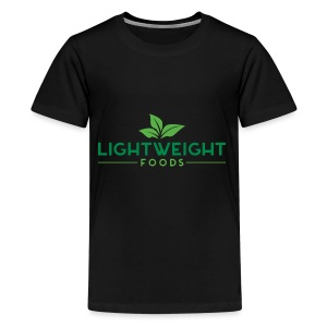 Lightweight Foods Lifestyle Baseball Tee - Kids' Premium T-Shirt