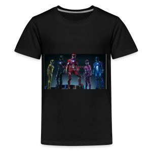 Boiis power ranger cosplay - Kids' Premium T-Shirt
