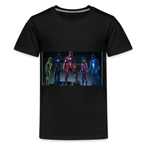 Boiis power ranger cosplay - Kids' Premium T-Shirt