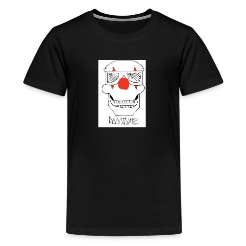 Dominate skull - Kids' Premium T-Shirt