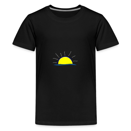 sunset hi - Kids' Premium T-Shirt