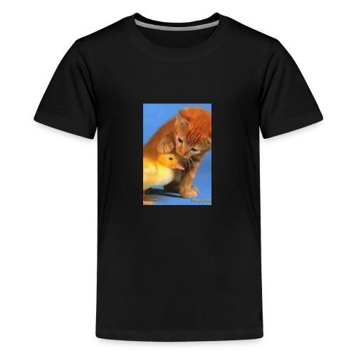 Cat Water Bottle - Kids' Premium T-Shirt