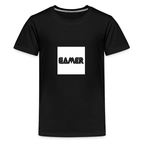 Gamer Logo Jpg 600x600 - Kids' Premium T-Shirt