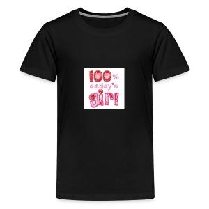 6359861514666412231626691250 daddys girl pic 2 - Kids' Premium T-Shirt