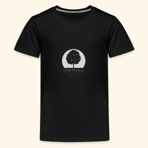 LCM school logo apparel and accessories - Kids' Premium T-Shirt