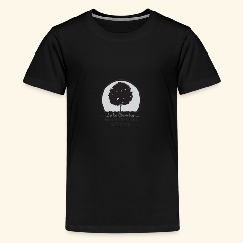 LCM school logo apparel and accessories - Kids' Premium T-Shirt