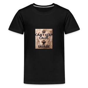 cant keep calm im a savage - Kids' Premium T-Shirt