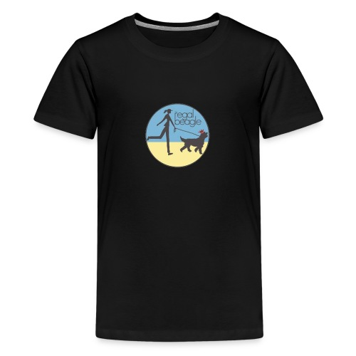 the regal beagle - Kids' Premium T-Shirt