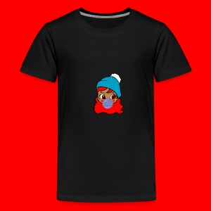 unbothered_girl - Kids' Premium T-Shirt