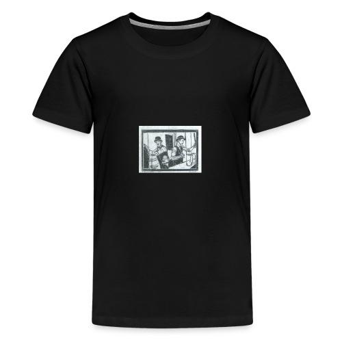 behind the bar - Kids' Premium T-Shirt
