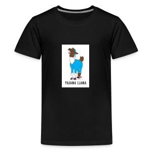 PAJAMA LLAMA - Kids' Premium T-Shirt