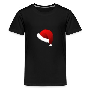 Carmaa Santa Hat Christmas Apparel - Kids' Premium T-Shirt
