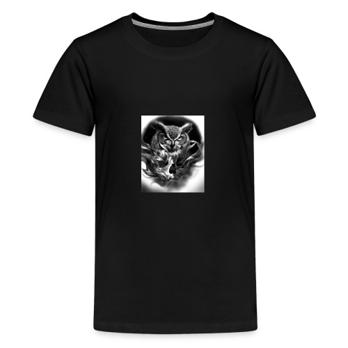 Owl of death - Kids' Premium T-Shirt