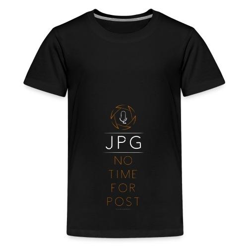 For the JPG Shooter - Kids' Premium T-Shirt