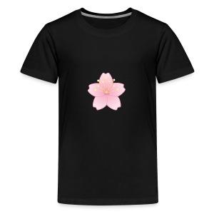 SLIM CHERRY BLOSSOM/ YungBones Merch - Kids' Premium T-Shirt
