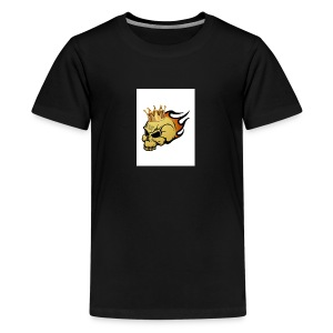 no way man king skull - Kids' Premium T-Shirt