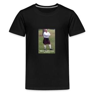 Kilted Realtor - Kids' Premium T-Shirt