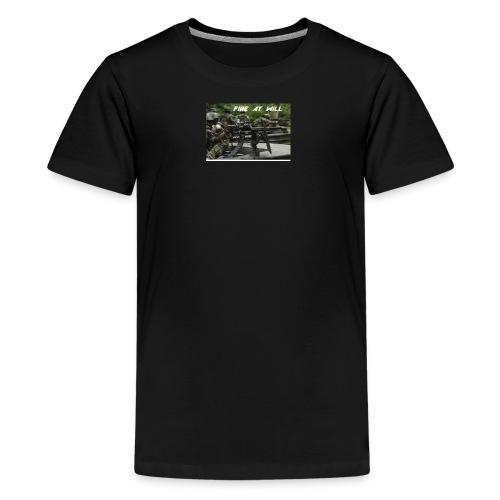 fire at will - Kids' Premium T-Shirt