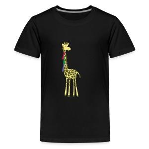 giraffes spend a lot on ties... - Kids' Premium T-Shirt
