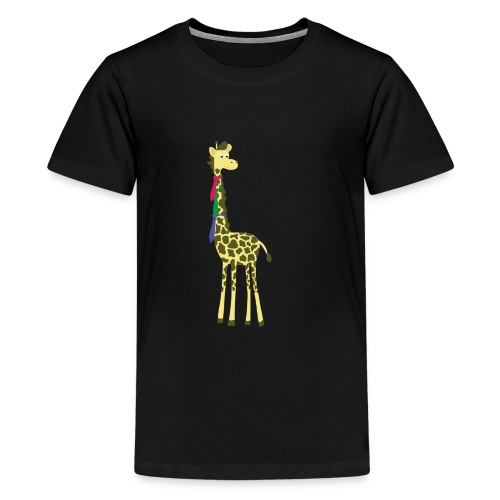 giraffes spend a lot on ties... - Kids' Premium T-Shirt
