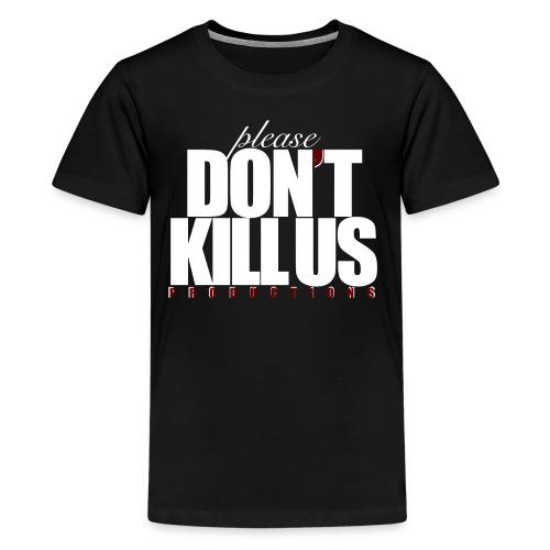 PDKUP White Logo - Kids' Premium T-Shirt