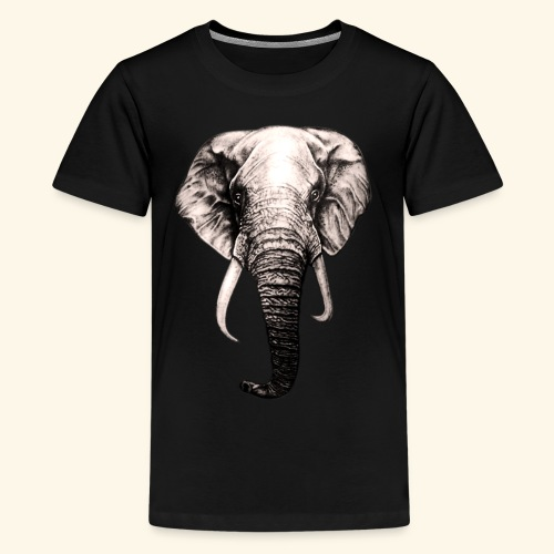 elephant Lover - Kids' Premium T-Shirt