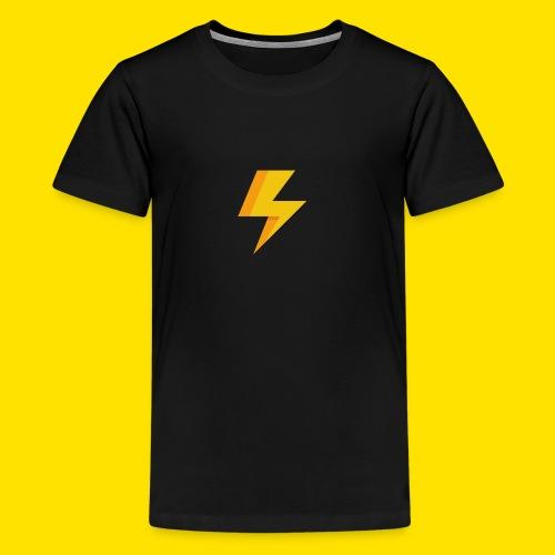 lightning icon - Kids' Premium T-Shirt