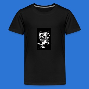 OMVRI Black n Whitee - Kids' Premium T-Shirt