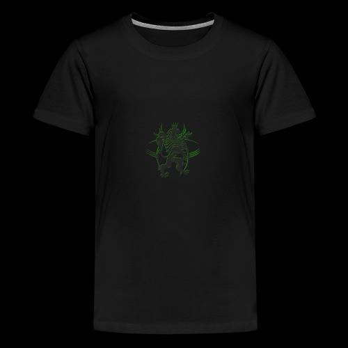The AfrLoy logo - Kids' Premium T-Shirt