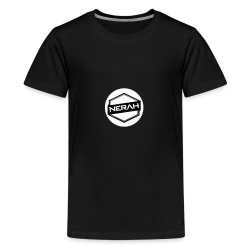 White Nerah Logo - Kids' Premium T-Shirt