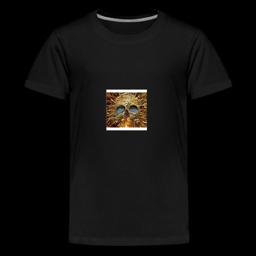Golden skull - Kids' Premium T-Shirt