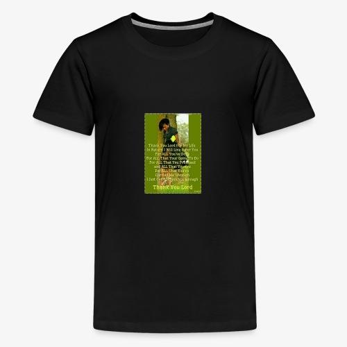 Thank You Lord - Kids' Premium T-Shirt