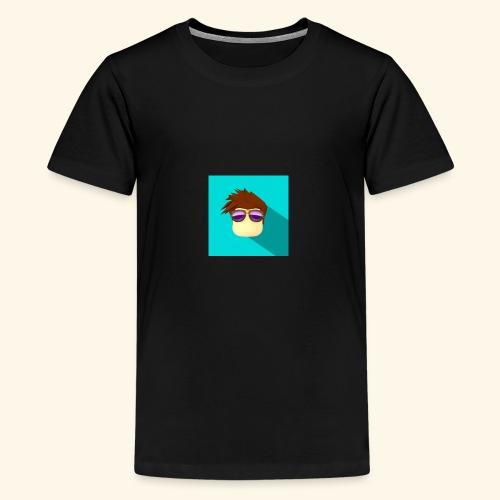 NixVidz Youtube logo - Kids' Premium T-Shirt