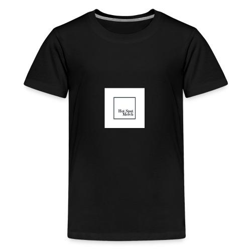 Hotspot Black Logo - Kids' Premium T-Shirt