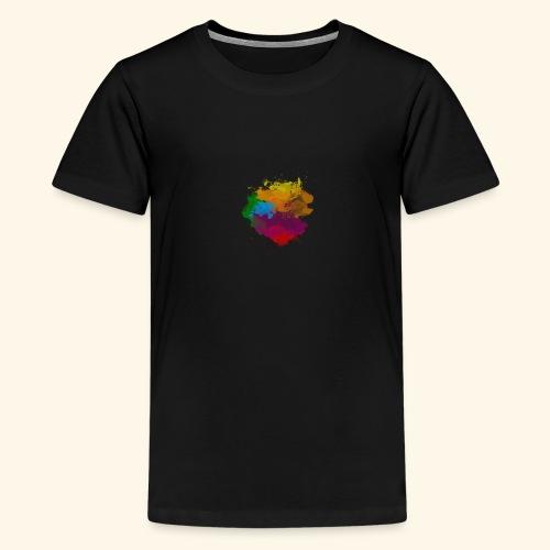 Simply a Splash of Colour - Kids' Premium T-Shirt