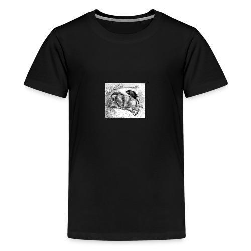 Crab Drawing - Kids' Premium T-Shirt