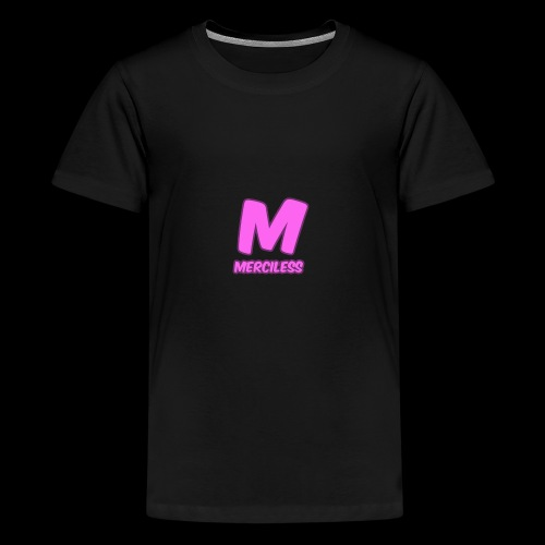 MercilessApparel pink logo - Kids' Premium T-Shirt