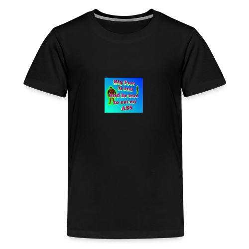 Bifoot cynical arse - Kids' Premium T-Shirt