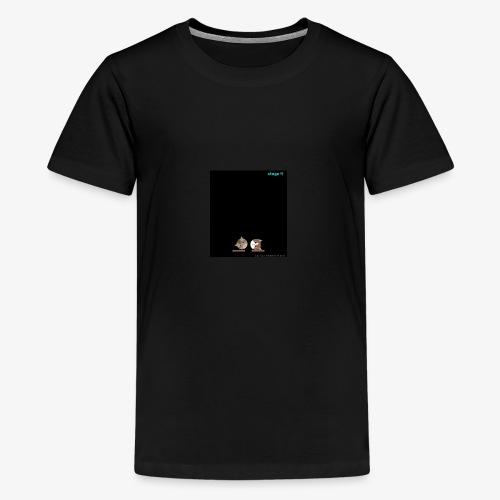 CatsStack20180126213030chrisyjrdutythfdsfgvhbbvbjj - Kids' Premium T-Shirt
