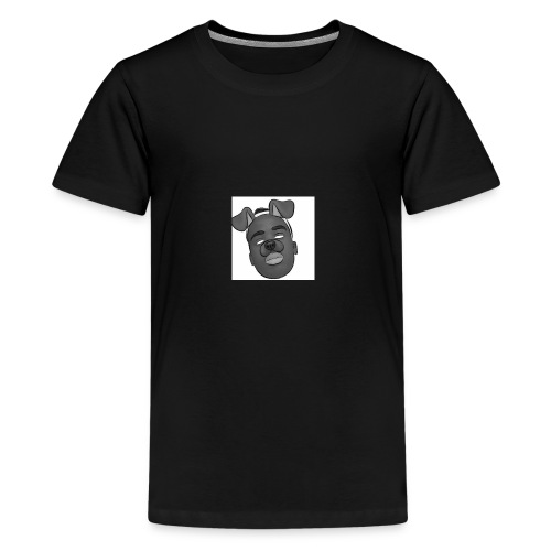 Caleb Quarshie- Sketch - Kids' Premium T-Shirt