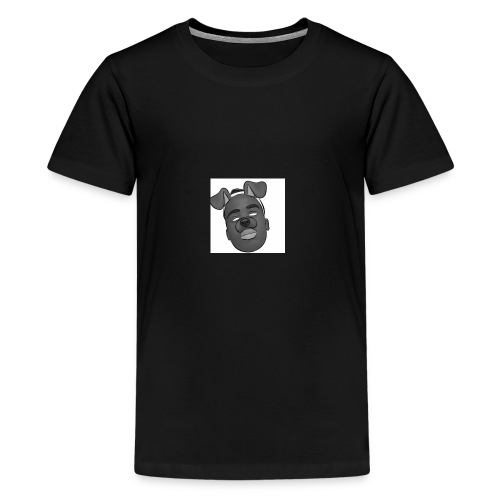 Caleb Quarshie- Sketch - Kids' Premium T-Shirt