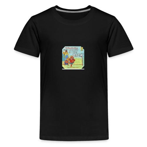 kicked in the dick - Kids' Premium T-Shirt